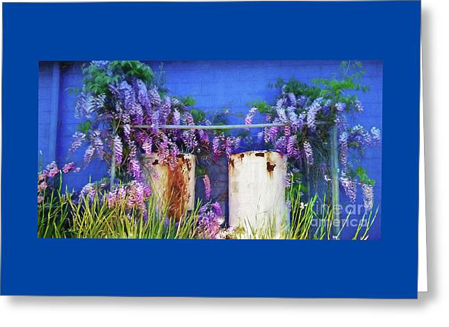 Greeting Card featuring the photograph Beauty Before Age By Kaye Menner by Kaye Menner