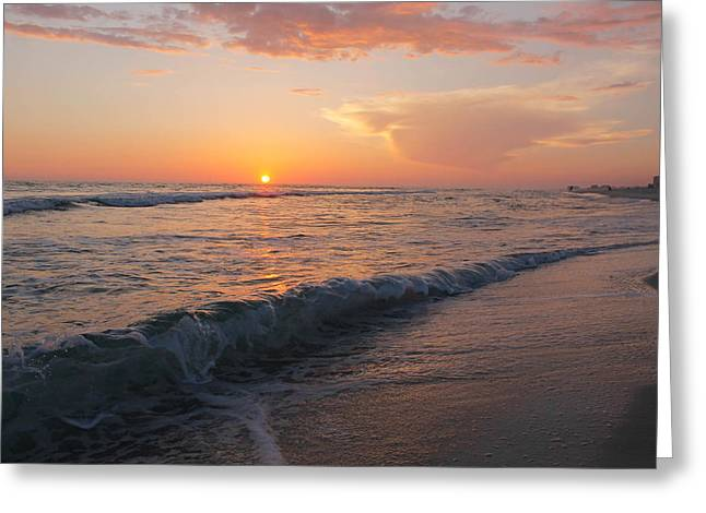 Beauty Before The Sun Greeting Card by Jessica Pate