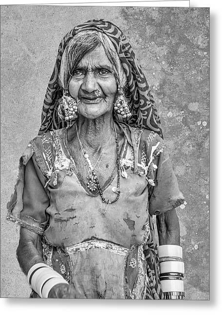 Beauty Before Age. Greeting Card