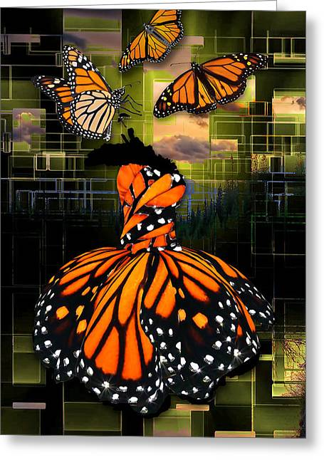Greeting Card featuring the mixed media Beauty In All Things by Marvin Blaine