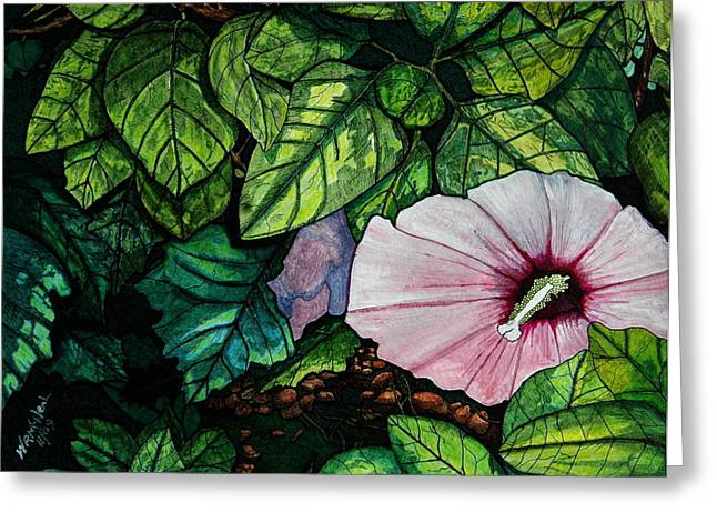 Beauty In Bloom Greeting Card by Willie McNeal