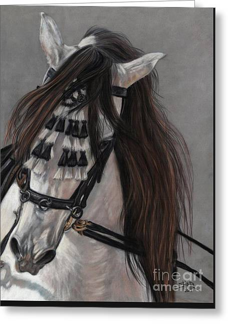 Beauty In Hand Greeting Card by Sheri Gordon