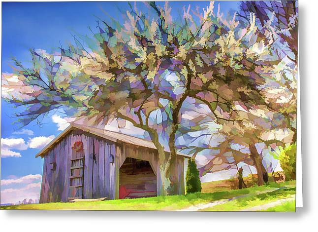 Beauty In The Country Greeting Card