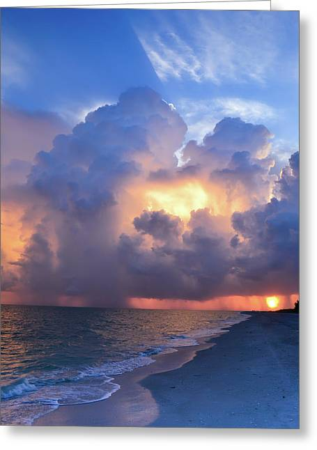 Greeting Card featuring the photograph Beauty In The Darkest Skies II by Melanie Moraga