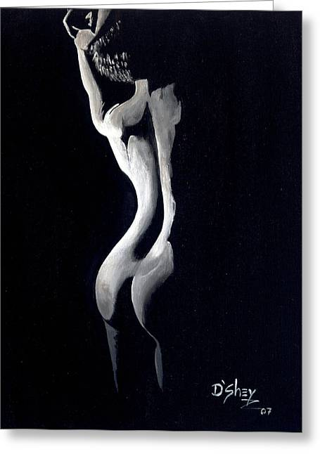 Beauty In The Shadows 10 Greeting Card by Don MacCarthy