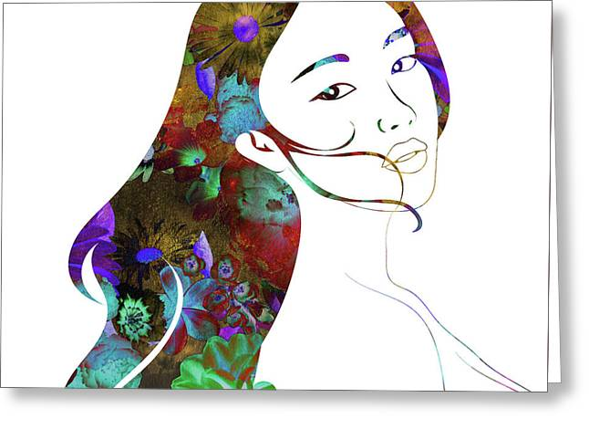 Beauty Lingers Greeting Card