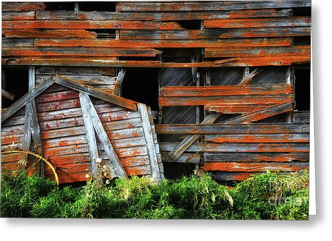 Beauty Of Barns 7 Greeting Card