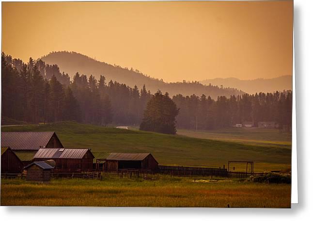 Beauty Of Black Hills, South Dakota Greeting Card