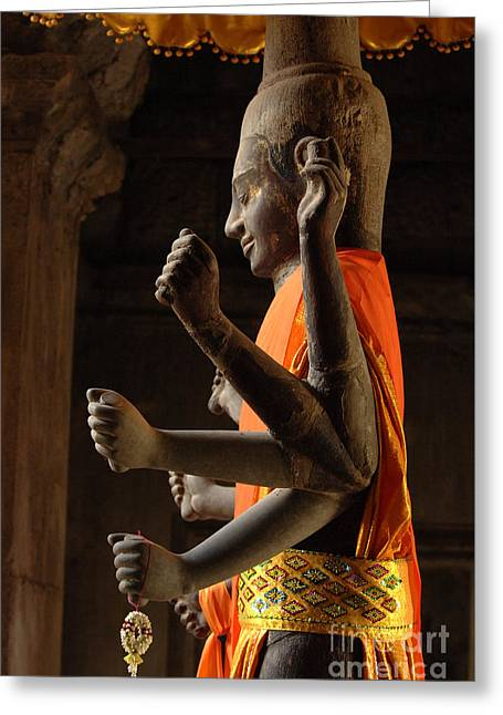 Beauty Of Cambodia 1 Greeting Card