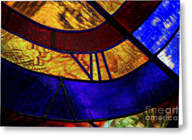 Beauty Of Color Greeting Card by Rick Bragan