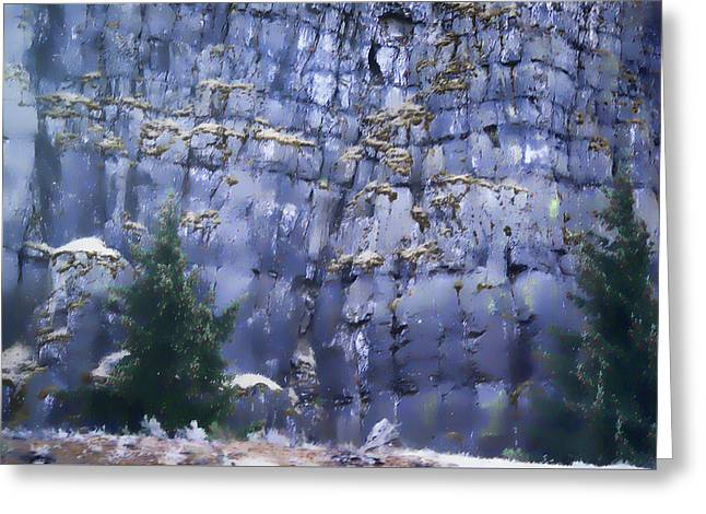 Greeting Card featuring the photograph Beauty Of The Gorge by Dale Stillman
