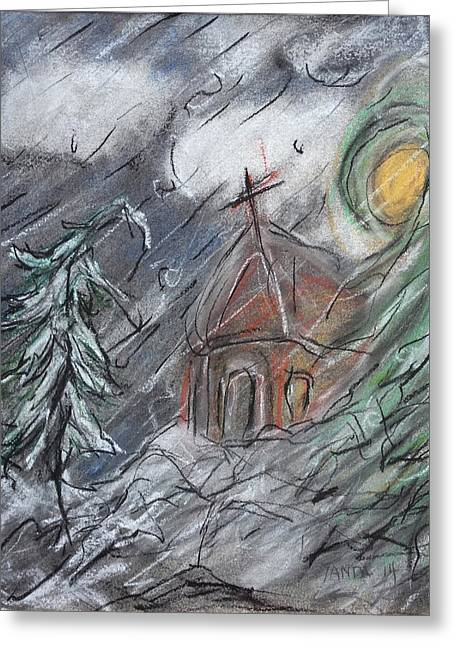 Beauty Of Winter Greeting Card