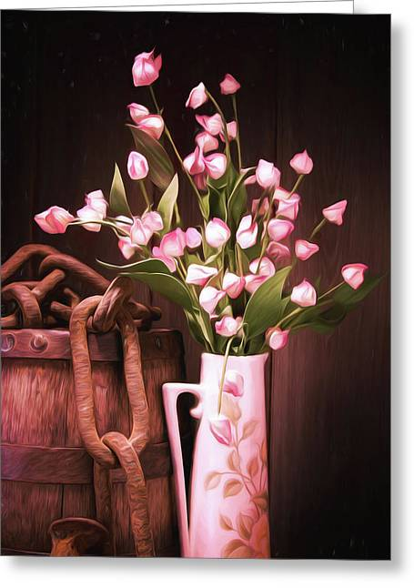 Beauty Unchained Greeting Card