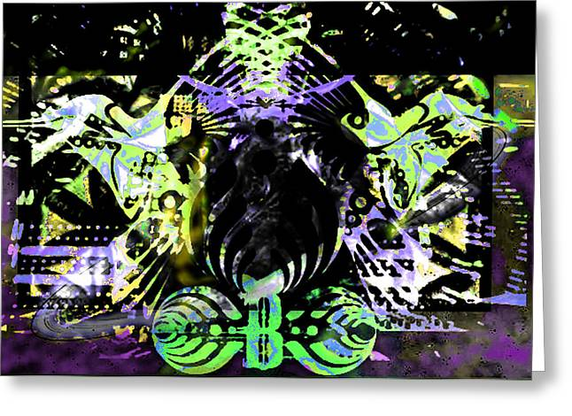 Beauty Vs Noise Tribute 2 Greeting Card by Andrew Kaupe