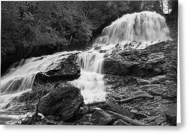 Beaver Brook Falls Greeting Card