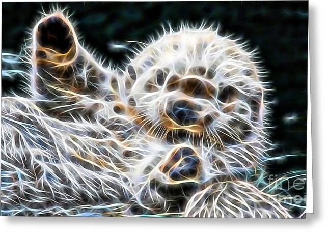Beaver Collection Greeting Card by Marvin Blaine