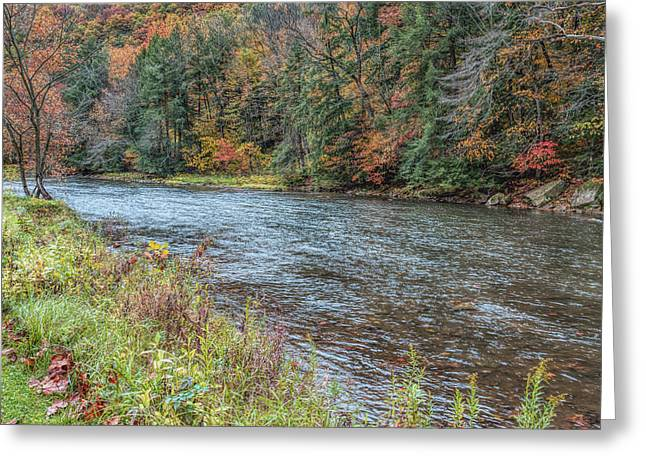 Greeting Card featuring the photograph Beaver Creek by John M Bailey