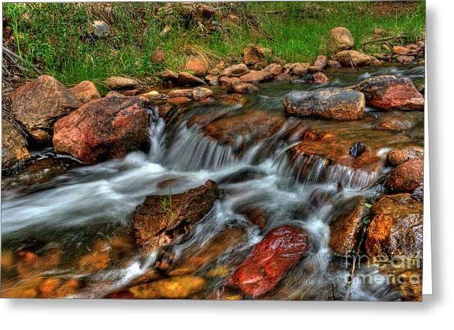 Beaver Creek Greeting Card