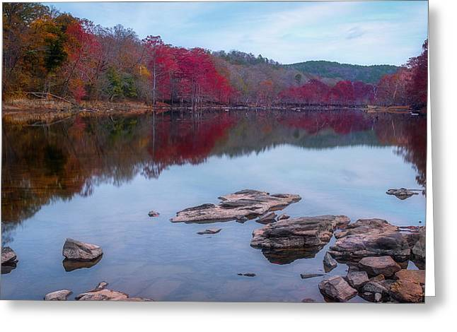 Beavers Bend State Park Greeting Card