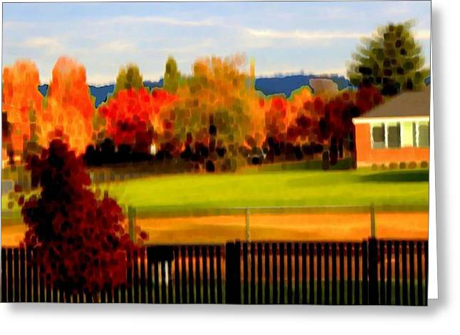 Beaverton H.s. 2 Greeting Card by Terence Morrissey