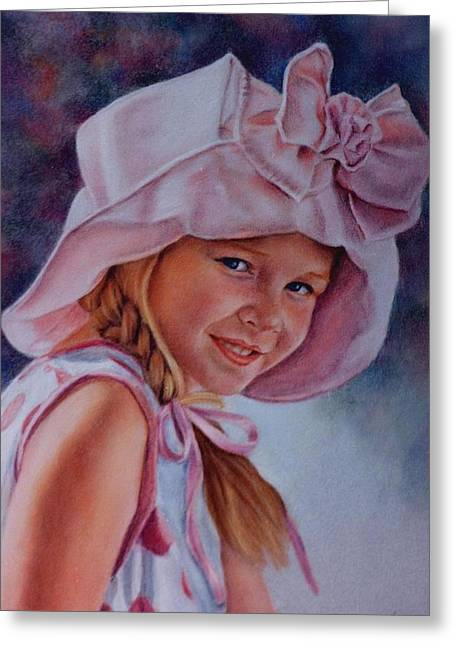 Becky Greeting Card by Ann Peck