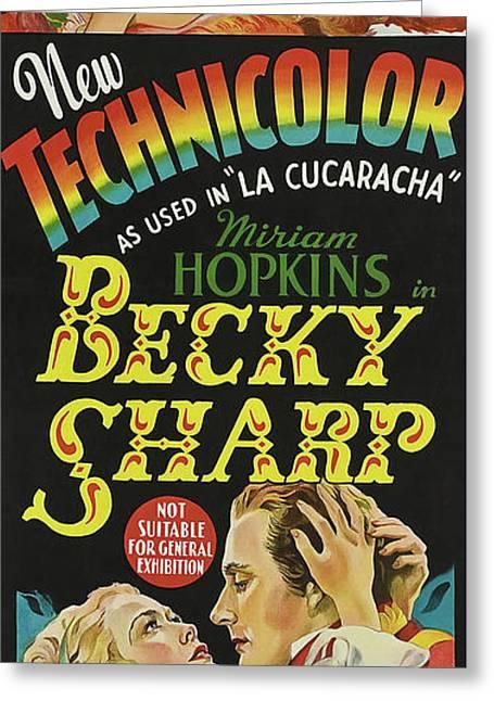 Becky Sharp 1935 Greeting Card by R K O