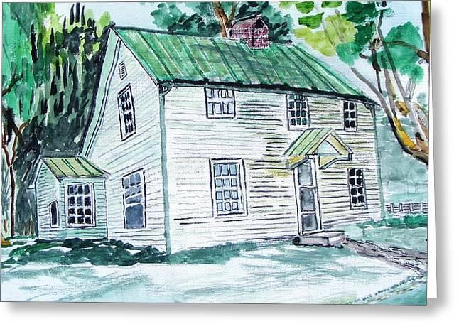 Becky's Homeplace Greeting Card by Spencer Hudson