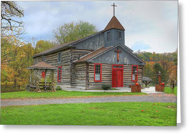 Bedford Village Church Greeting Card