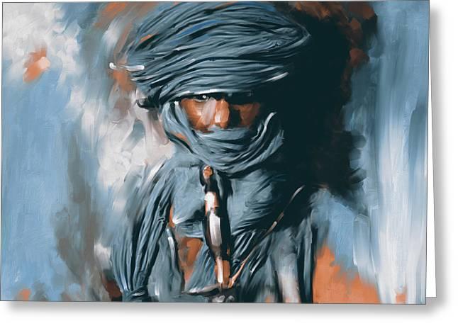 Bedouin Man 453 II Greeting Card