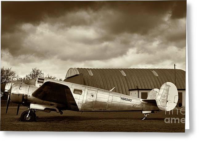 Beechcraft 18 Expeditor Greeting Card by Richard Allen