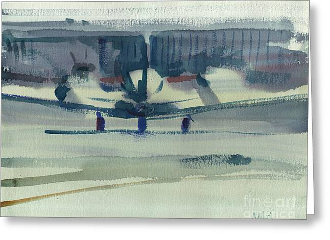 Beechcraft King Air Greeting Card
