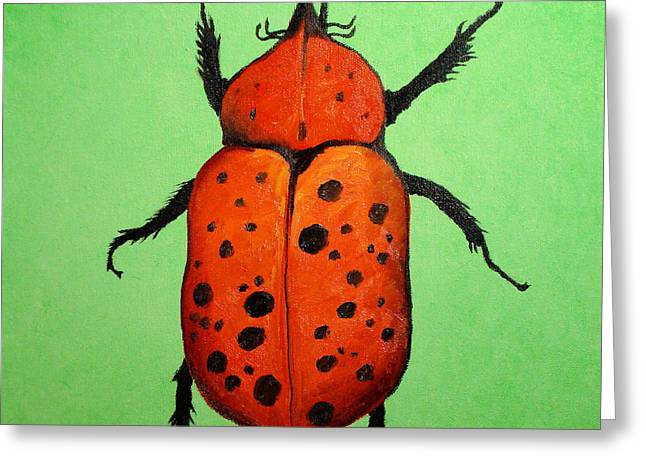 Beedles - Paul Greeting Card by Scott Plaster