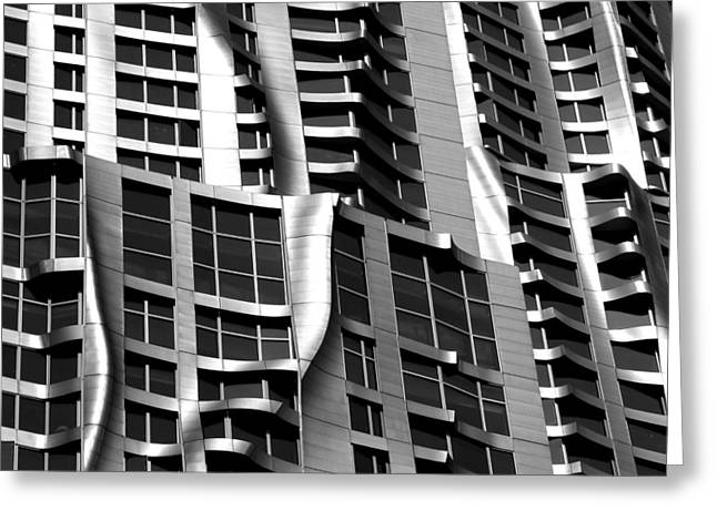 Beekman Tower Detail Greeting Card by Andrew Fare