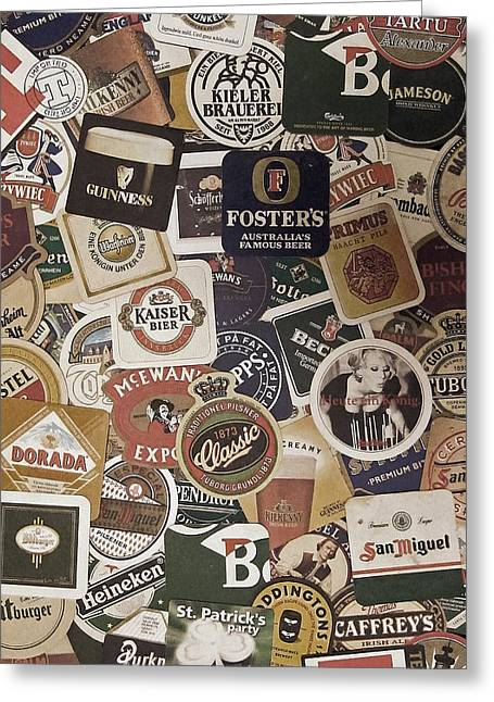 Beers Of The World Greeting Card