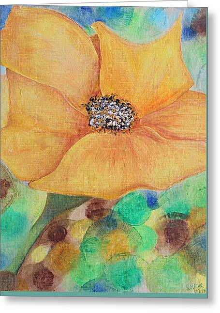 Bees Delight Greeting Card