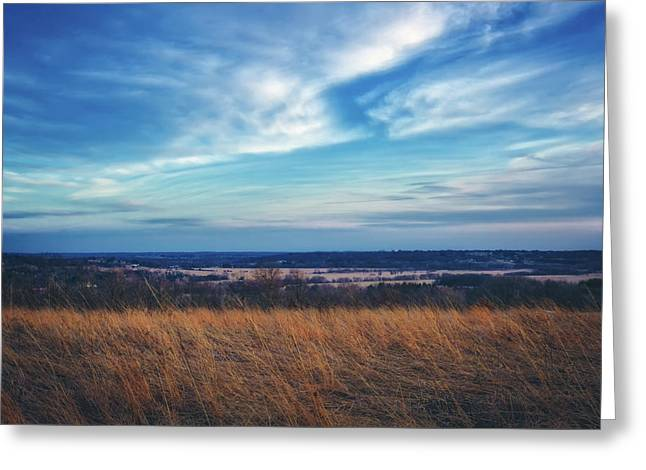 Before Sunset At Retzer Nature Center - Waukesha Greeting Card by Jennifer Rondinelli Reilly - Fine Art Photography
