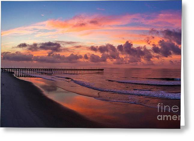 Greeting Card featuring the photograph Before The Dawn by DJA Images