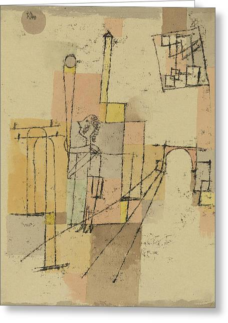 Before The Festivity Greeting Card by Paul Klee