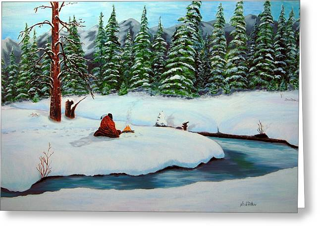 Before The Next Snowfall Greeting Card by Nick Petkov