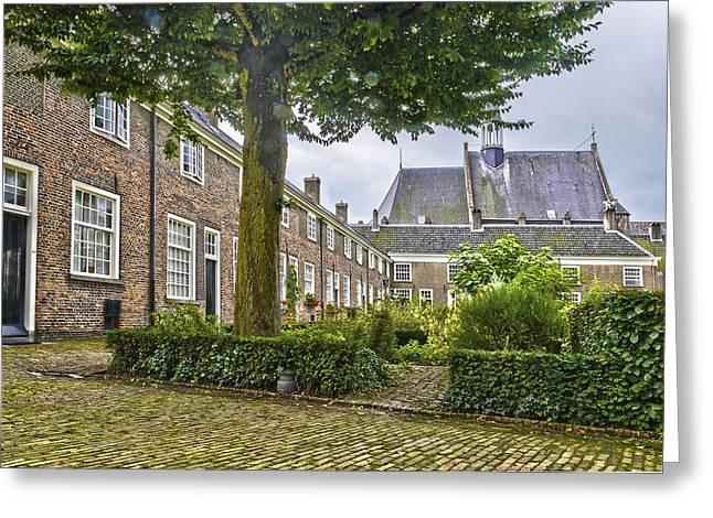 Begijnhof In Breda Greeting Card