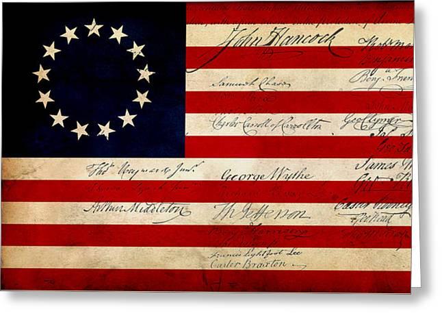 1776 Greeting Card