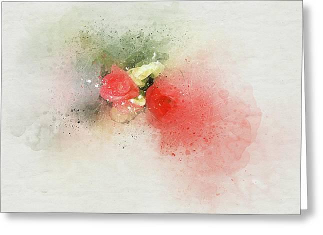 Begonia 7 Greeting Card