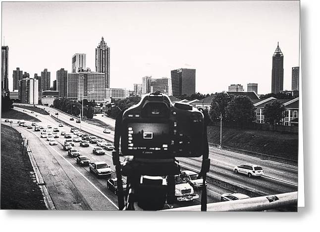 Behind The Lens Greeting Card