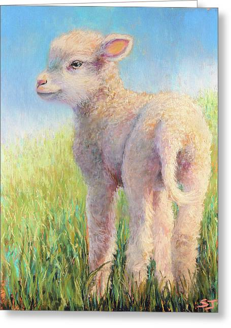 Behold The Lamb Greeting Card