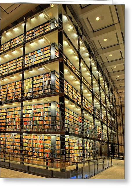 Beinecke Library At Yale University Greeting Card