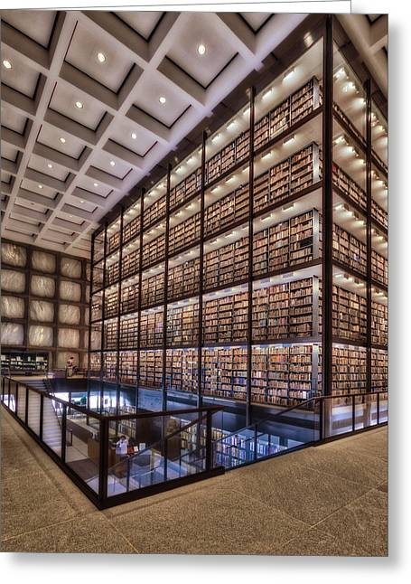 Beinecke Rare Book And Manuscript Library Greeting Card