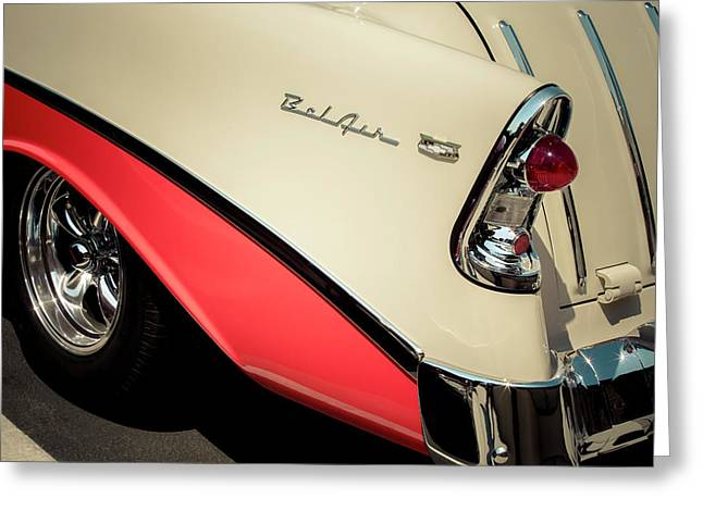 Greeting Card featuring the photograph Bel Air Style by Caitlyn Grasso