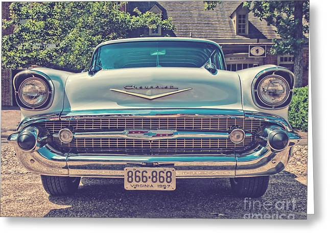 Bel Air Style Greeting Card by Emily Kay