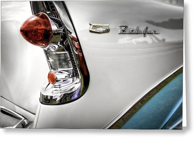 Belair One Greeting Card by Jerry Golab