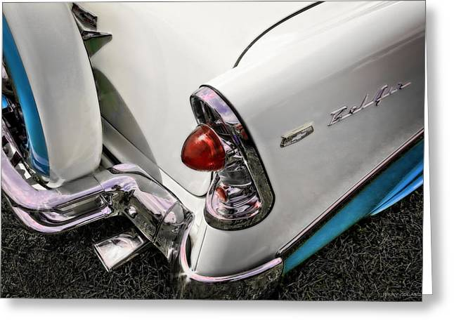 Belair  Two Greeting Card by Jerry Golab